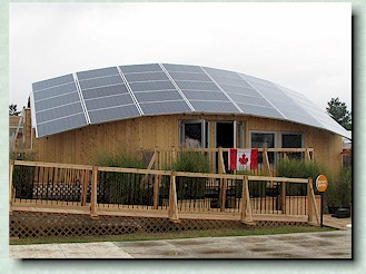 Team Canada at the Solar Decathlon