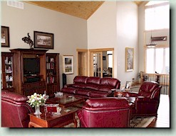 Bob's Lake country retreat - great room