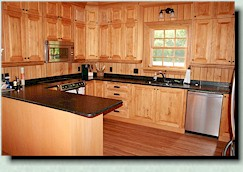 custom hand crafted kitchen, Quebec