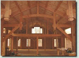 Log Farm Timberframe B