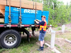 Manitoulin Island Delivery Driver.